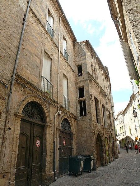 Photo du Monument Historique Maison situé à Pézenas