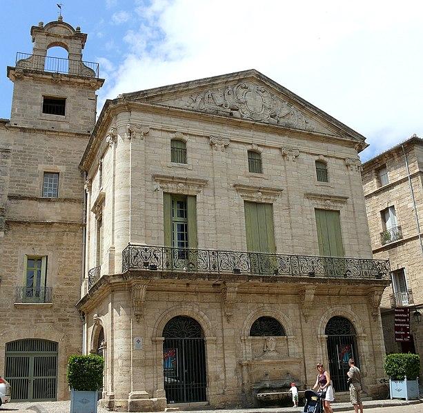 Photo du Monument Historique Ancien palais consulaire situé à Pézenas