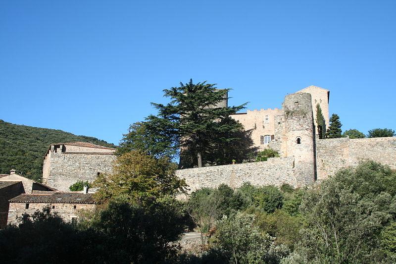 Photo du Monument Historique Château situé à Pézènes-les-Mines