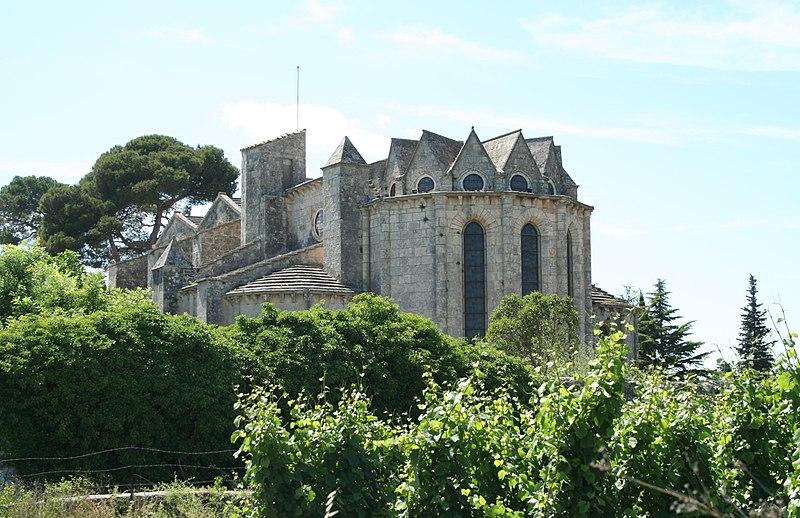 Photo du Monument Historique Abbaye de Vignogoul situé à Pignan