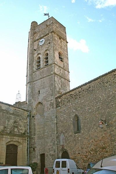 Photo du Monument Historique Eglise Saint-Cyr situé à Pomérols
