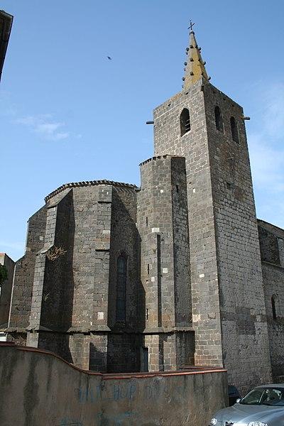 Photo du Monument Historique Eglise Saint-Félix situé à Portiragnes