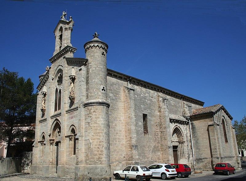 Photo du Monument Historique Eglise paroissiale Sainte-Catherine d'Alexandrie situé à Pouget (Le)