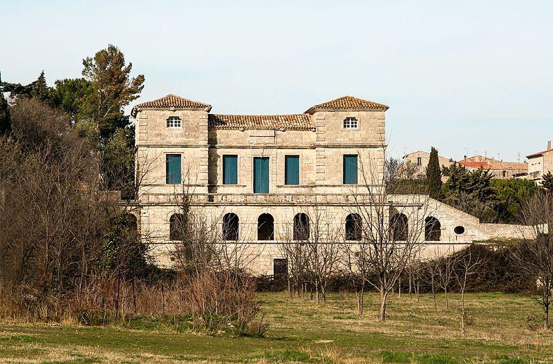 Photo du Monument Historique Château de la Garenne situé à Poussan