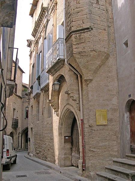 Photo du Monument Historique Maison Vinas situé à Poussan