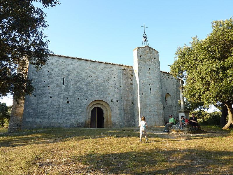Photo du Monument Historique Eglise Saint-Sylvestre de Montcalmès situé à Puéchabon