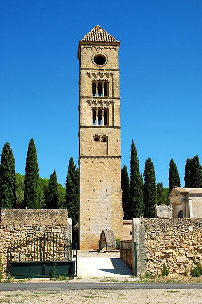 Photo du Monument Historique Tour romane situé à Puissalicon