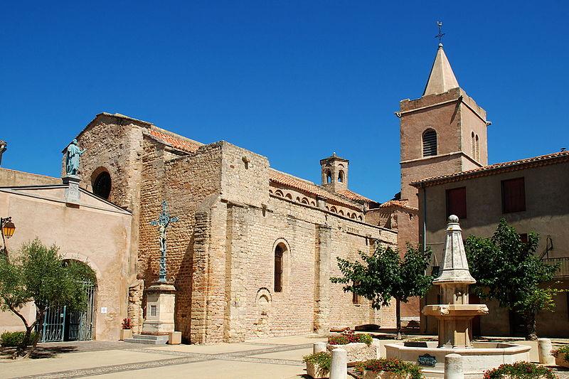 Photo du Monument Historique Eglise Sainte-Marie situé à Quarante
