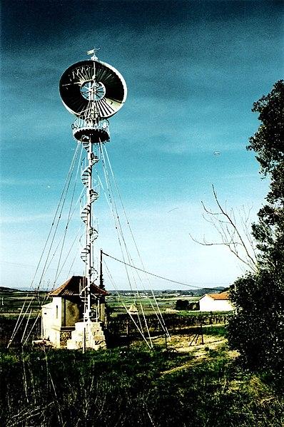 Photo du Monument Historique Eolienne de Roueire situé à Quarante