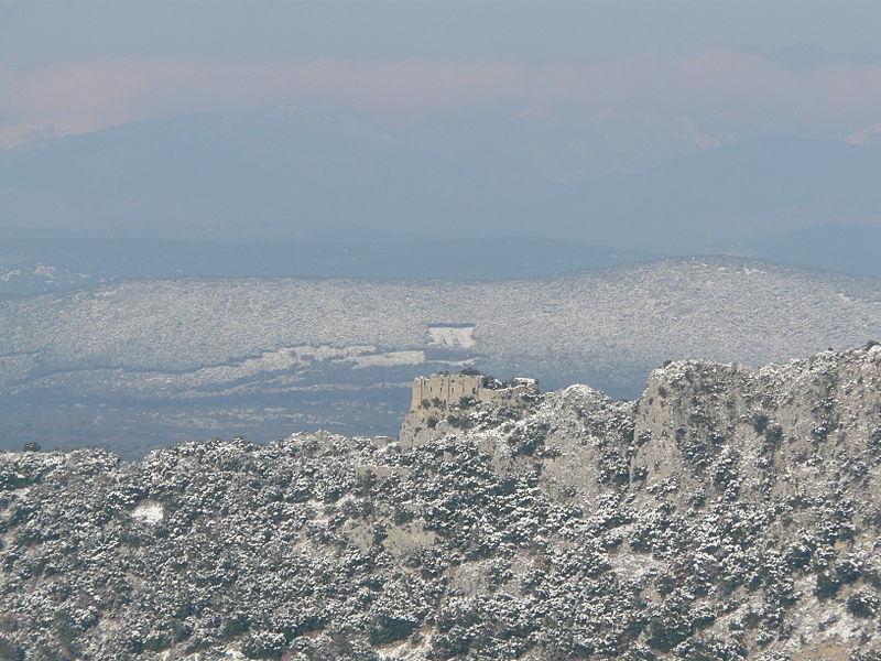 Photo du Monument Historique Restes du château de la Roquette situé à Rouet