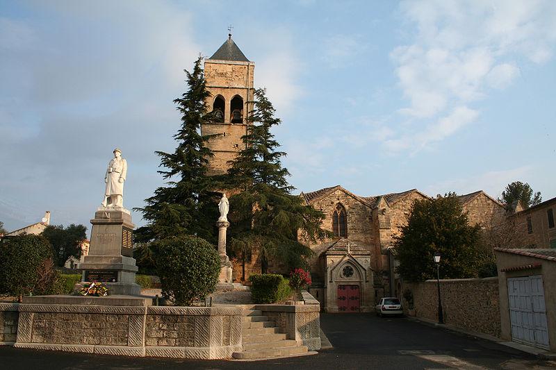 Photo du Monument Historique Eglise Saint-Laurent situé à Roujan