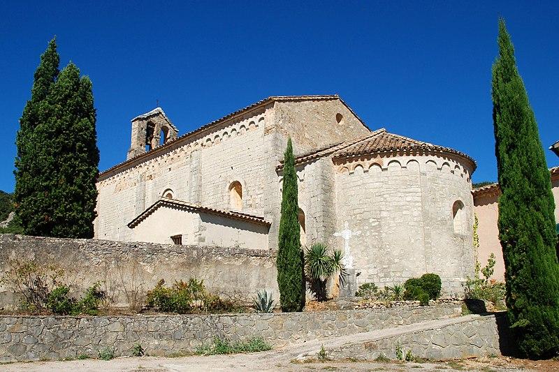 Photo du Monument Historique Eglise situé à Saint-André-de-Buèges