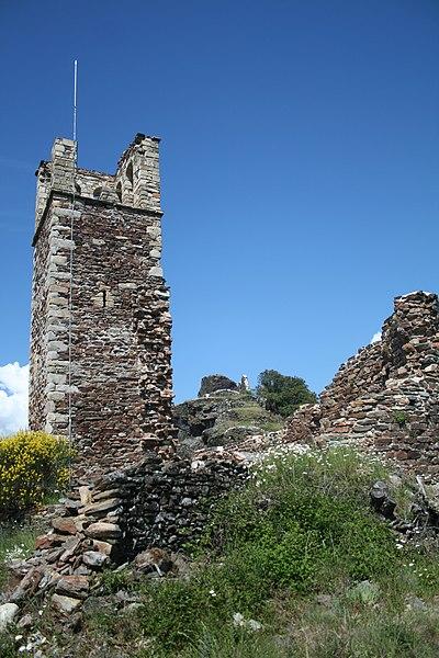 Photo du Monument Historique Ruines de l'ancienne abbaye Saint-Pierre de Nayran situé à Saint-Gervais-sur-Mare