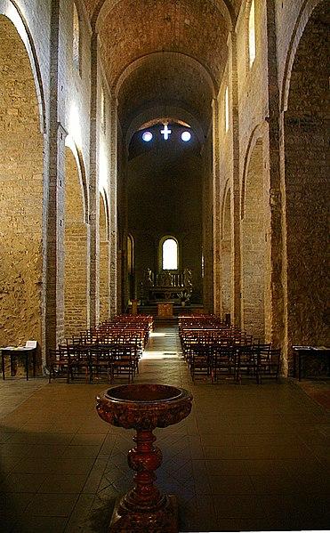 Photo du Monument Historique Ancienne abbaye de Gellone situé à Saint-Guilhem-le-Désert
