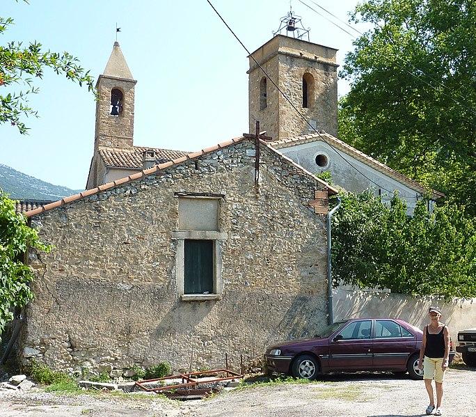 Photo du Monument Historique Eglise de la Nativité de Saint-Jean-Baptiste situé à Saint-Jean-de-Buèges