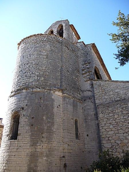 Photo du Monument Historique Eglise de la Nativité de Saint-Jean-Baptiste situé à Saint-Jean-de-Cuculles