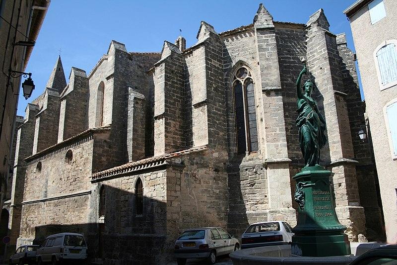Photo du Monument Historique Eglise Saint-Pargoire situé à Saint-Pargoire