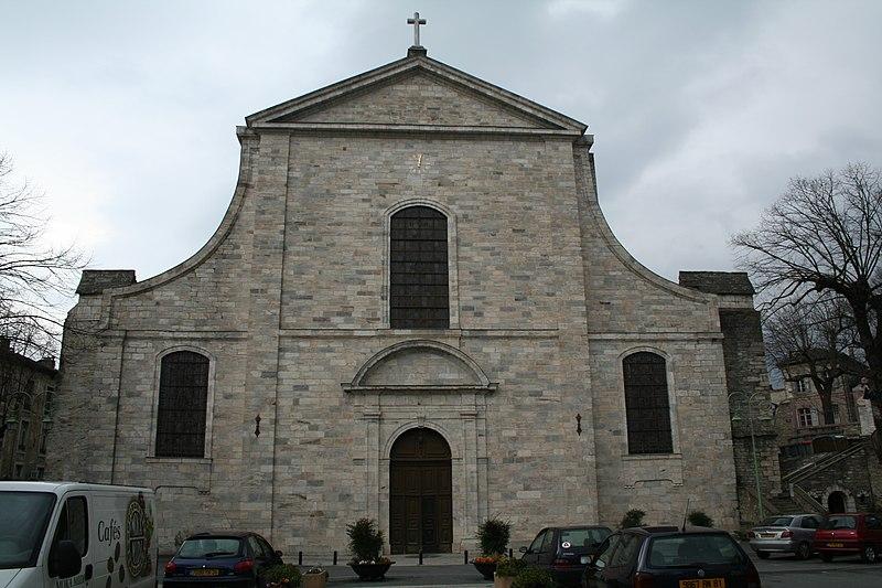 Photo du Monument Historique Ancienne cathédrale Saint-Pons situé à Saint-Pons-de-Thomières