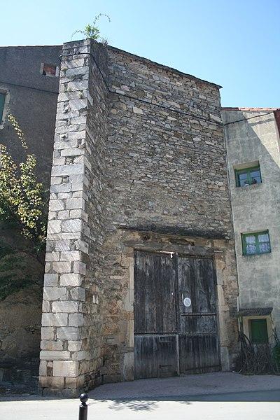 Photo du Monument Historique Ancienne église Saint-Martin-du-Jaur situé à Saint-Pons-de-Thomières