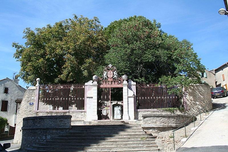 Photo du Monument Historique Ancien évêché situé à Saint-Pons-de-Thomières