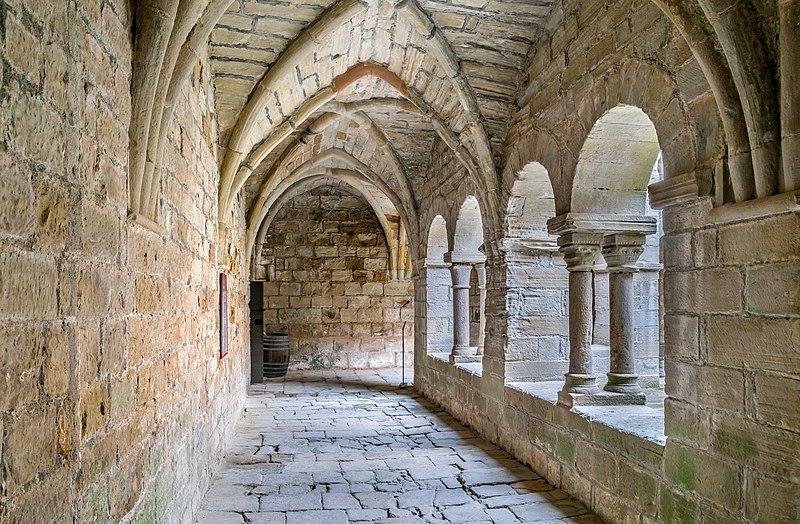 Photo du Monument Historique Ancien prieuré Saint-Michel de Grandmont situé à Saint-Privat