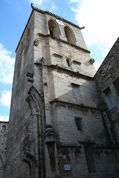 Photo du Monument Historique Eglise et tour situé à Saint-Thibéry