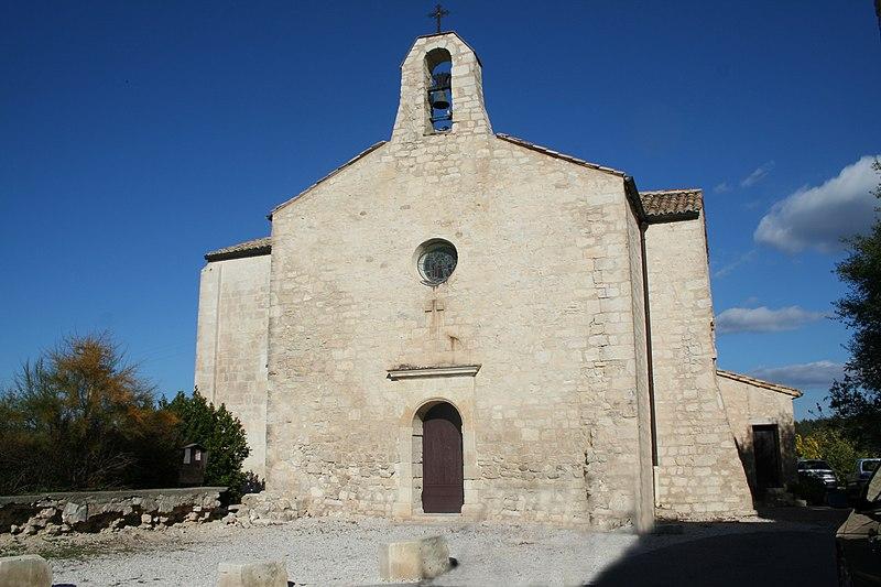Photo du Monument Historique Eglise Saint-Vincent situé à Saint-Vincent-de-Barbeyrargues