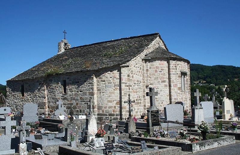 Photo du Monument Historique Ancienne église Saint-Etienne-de-Cavall situé à La Salvetat-sur-Agout