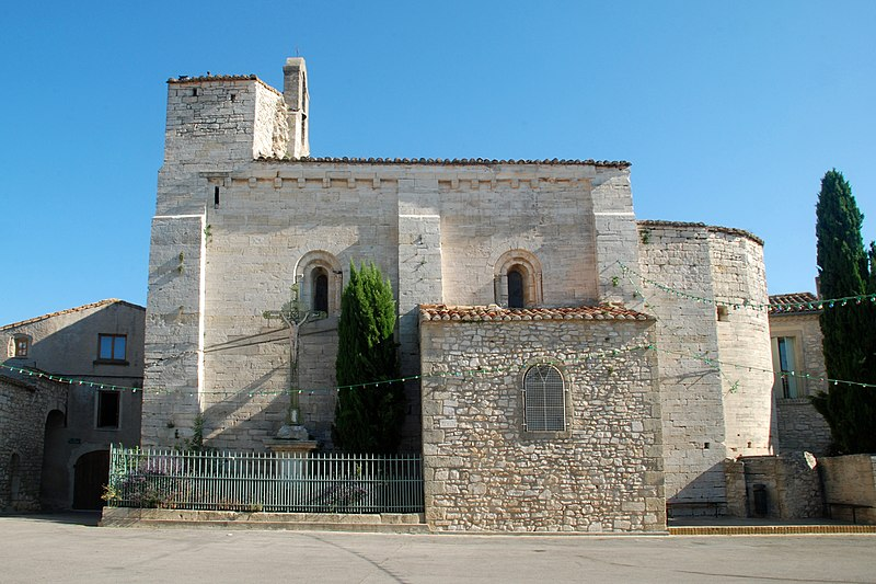 Photo du Monument Historique Eglise Saint-Etienne situé à Saussines