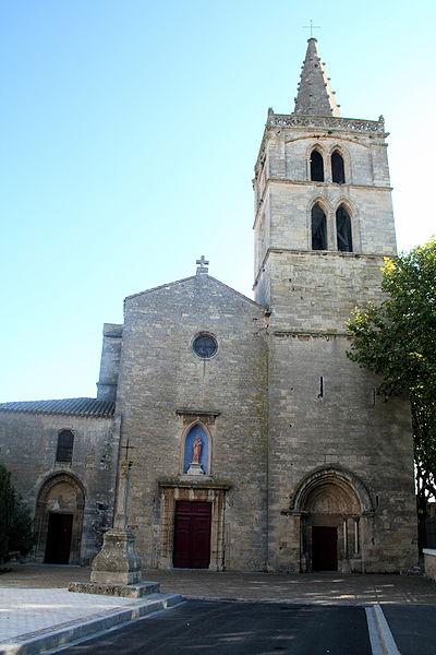 Photo du Monument Historique Eglise Notre-Dame de Grâce situé à Sérignan