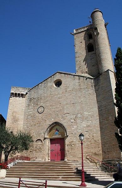Photo du Monument Historique Eglise Saint-Julien et Sainte-Basilisse situé à Servian