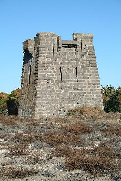 Photo du Monument Historique Tour dite Redoute du Castellas situé à Sète