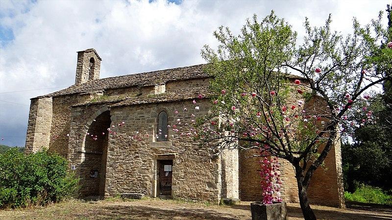 Photo du Monument Historique Chapelle Notre-Dame de Centheilles situé à Siran