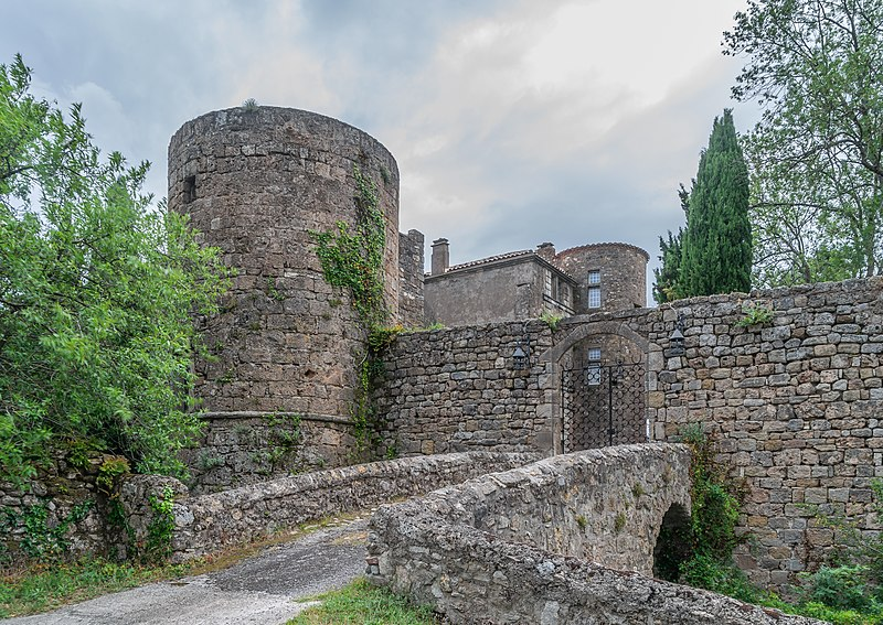 Photo du Monument Historique Ancien château ou donjon situé à Soubès