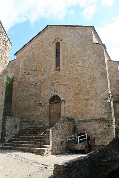 Photo du Monument Historique Eglise Notre-Dame de la Pitié de Boussagues situé à La Tour-sur-Orb