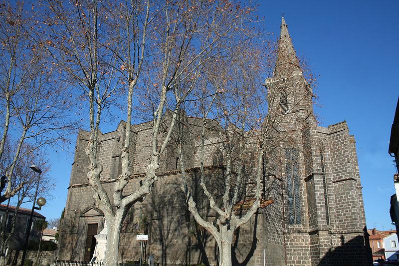 Photo du Monument Historique Eglise Saint-Jean-Baptiste situé à Vias