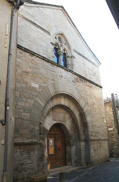 Photo du Monument Historique Ancienne église Saint-Grégoire, actuellement entrepôt municipal situé à Villemagne-l'Argentière