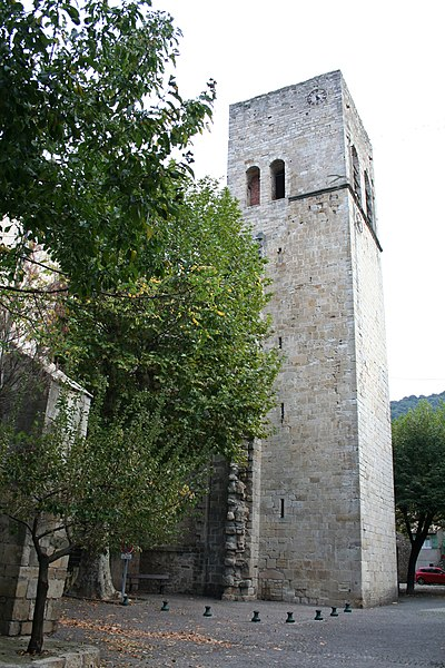 Photo du Monument Historique Eglise Saint-Majan situé à Villemagne-l'Argentière