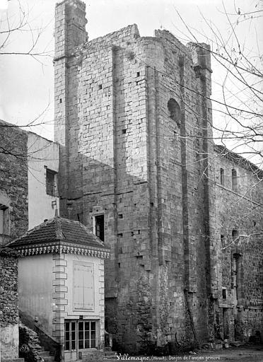 Photo du Monument Historique Ancienne abbaye Saint-Martin et Saint-Majan situé à Villemagne-l'Argentière