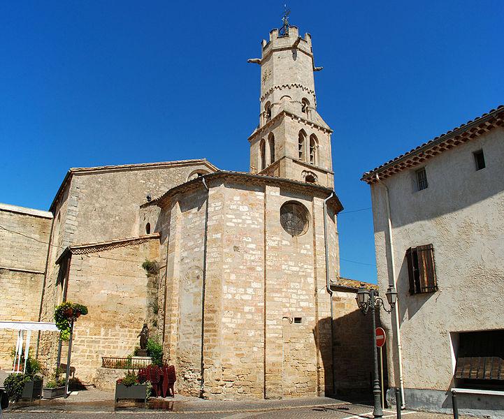 Photo du Monument Historique Eglise Saint-Etienne situé à Villeneuve-lès-Béziers