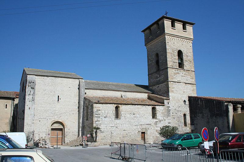 Photo du Monument Historique Eglise Saint-Etienne situé à Villeneuve-lès-Maguelone