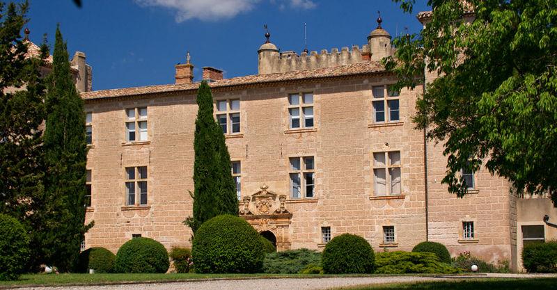 Photo du Monument Historique Château de Cambous situé à Viols-en-Laval