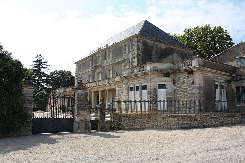 Photo du Monument Historique Domaine du Vieux Mujolan situé à Fabrègues
