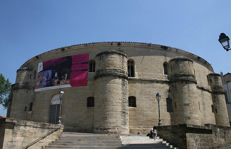 Photo du Monument Historique Ancien couvent des Ursulines, anciennes prisons (ex-Caserne Grossetti) situé à Montpellier