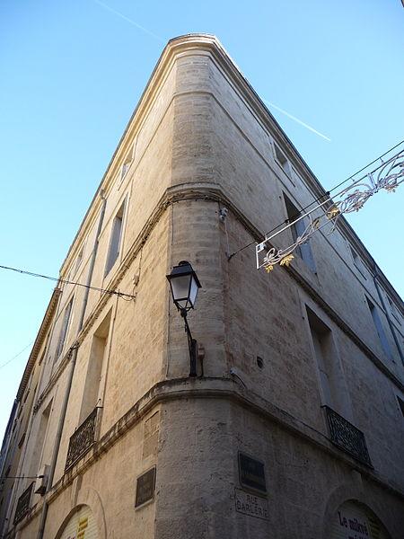 Photo du Monument Historique Immeuble, ancienne synagogue situé à Montpellier