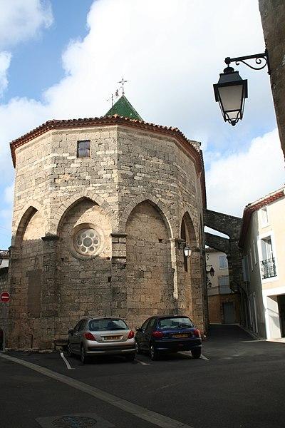 Photo du Monument Historique Eglise paroissiale situé à Saint-Geniès-de-Fontedit