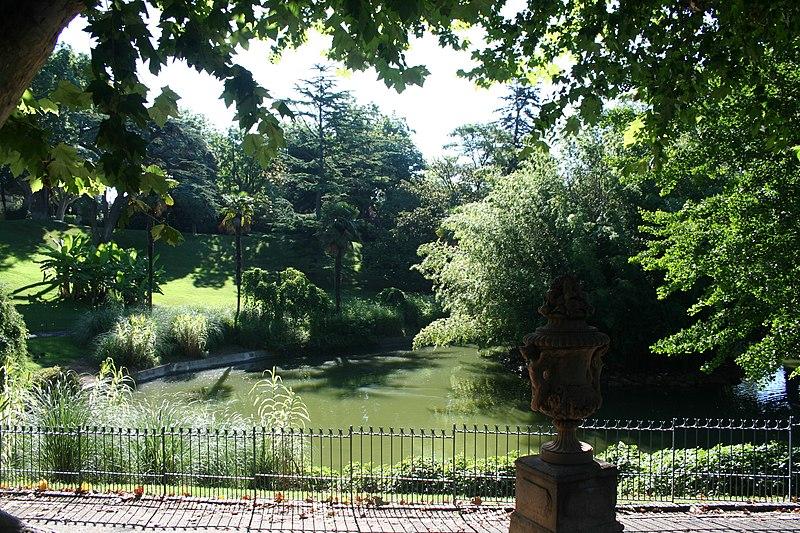 Photo du Monument Historique Jardin du Plateau des Poètes situé à Béziers