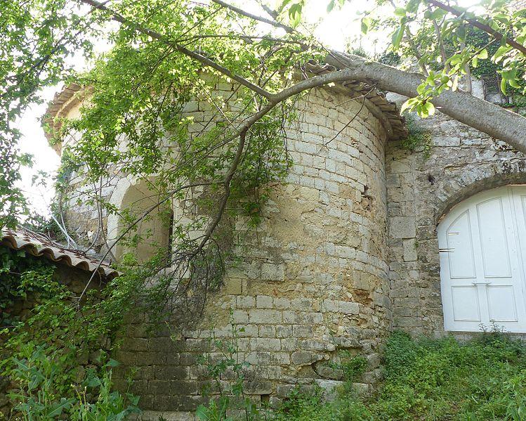 Photo du Monument Historique Ancienne église Notre-Dame du Fort situé à Montarnaud