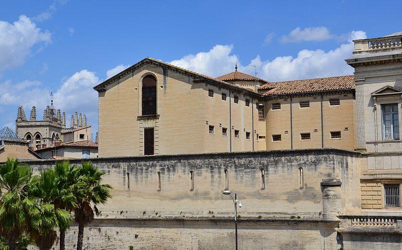 Photo du Monument Historique Ancienne prison situé à Montpellier