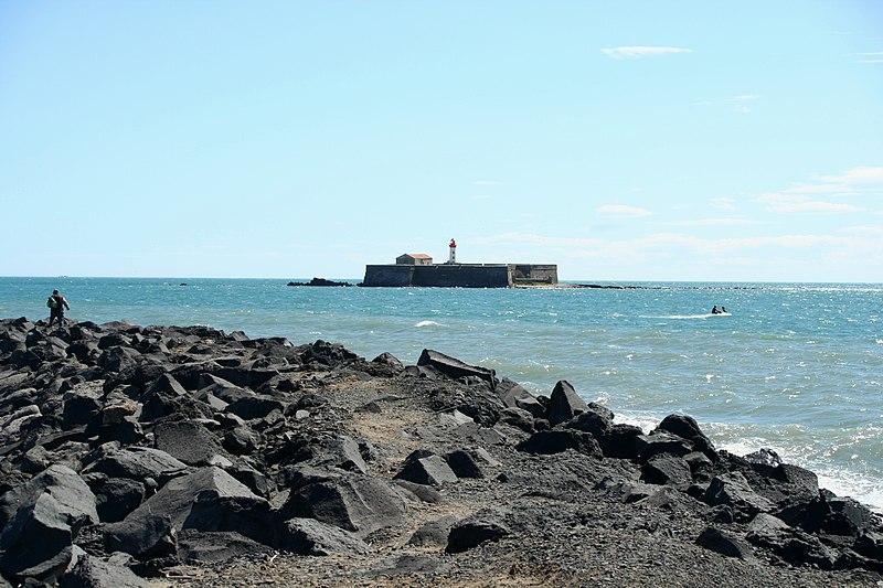 Photo du Monument Historique Fort Brescou situé à Agde